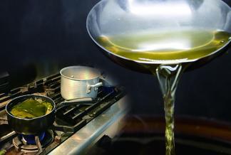 本格お出汁の取り方講座 釜で炊いたご飯の試食付き
