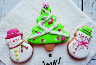 オーナメントにもピッタリ! クリスマスアイシングクッキー作り ~親子で参加OK