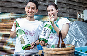 静岡市の名水で造られた日本酒と静岡のおつまみを蔵元と一緒に楽しもう