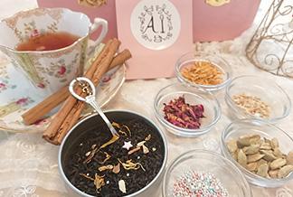 クリスマスブレンドティー体験と紅茶の美味しい淹れ方レクチャー