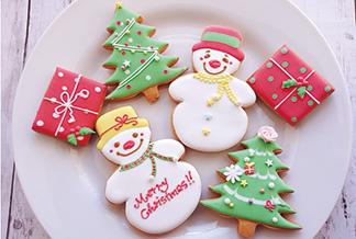 オーナメントにもピッタリ!クリスマスアイシングクッキー作り
