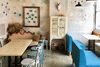 flowery cafe cachette
